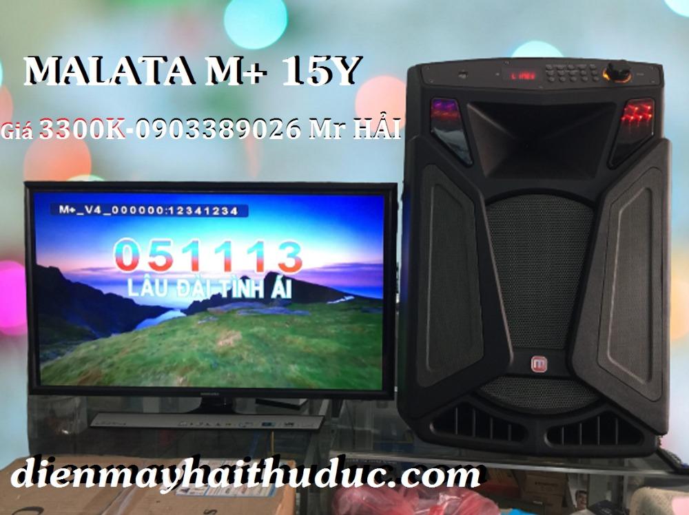 Loa kéo Malata M+ 15Y bán rẻ nhất tại Điện Máy Hải Thủ Đức0