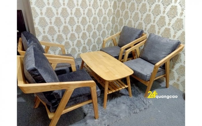Bàn ghế sofa cafe nhựa giả mây giá tốt, hàng mới 99%6