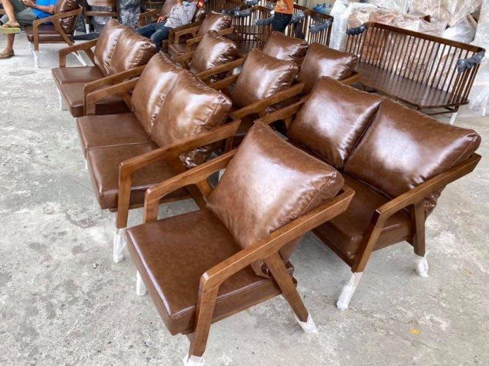 Bàn ghế sofa cafe nhựa giả mây giá tốt, hàng mới 99%4