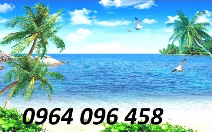Tranh gạch 3d - gạch tranh 3d bờ biển cây dừa5