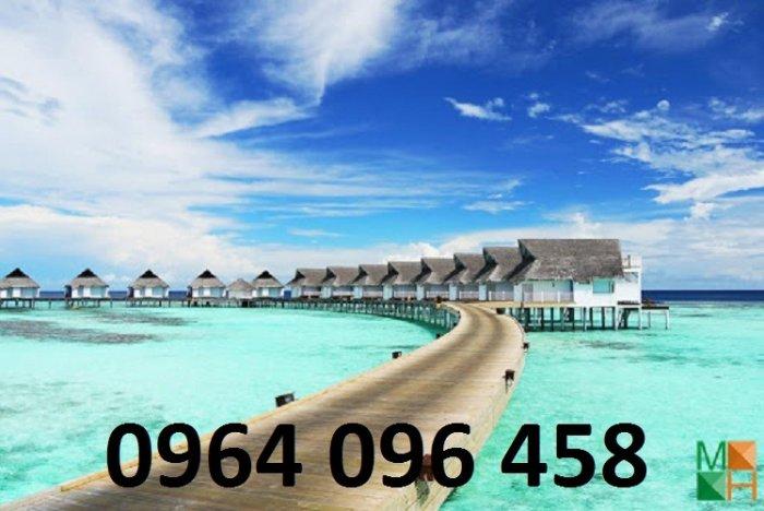 Tranh gạch 3d - gạch tranh 3d bờ biển cây dừa2