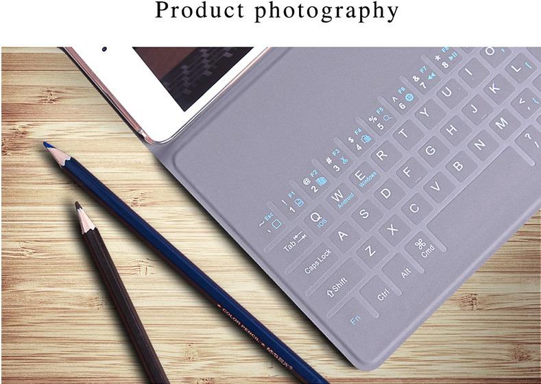 Bao da bàn phím Bluetooth keyboard ipad mini 4, Bao da bàn phím siêu mỏng cho ipad mini4