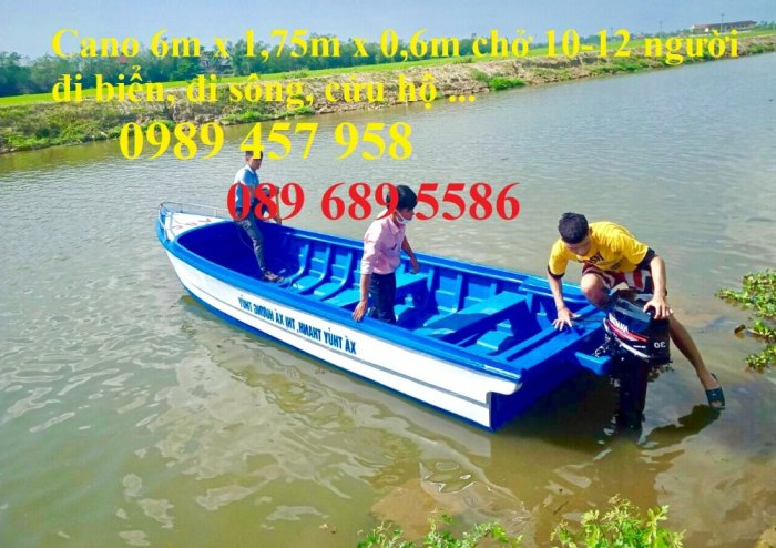 Những mẫu cano và thuyền chở khách 6-8 người, Cano chở 10-12 người giá rẻ4