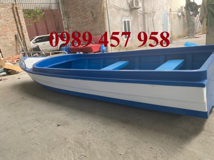 Thuyền nhựa chèo tay 2-3 người, thuyền câu cá cho 4 người1