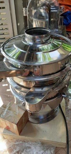 Máy sàng rung bột khô, máy rây bột gia vị, máy sàng bột ngũ cốc, máy sàng bột 1 tầng HY6002