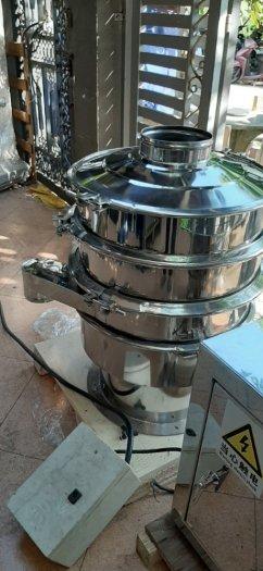 Máy sàng rung bột khô, máy rây bột gia vị, máy sàng bột ngũ cốc, máy sàng bột 1 tầng HY6000