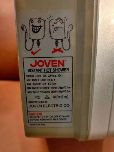Máy tắm nước nóng trực tiếp Joven 820i .3