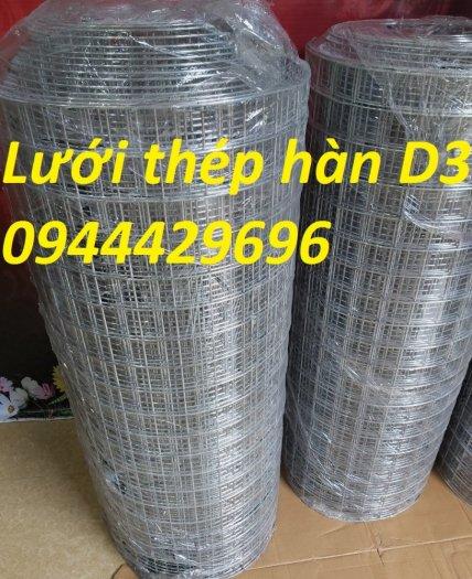 Lưới thép hàn mạ kẽm D3 ô 50 x50 khổ 1.2m sẵn kho .13
