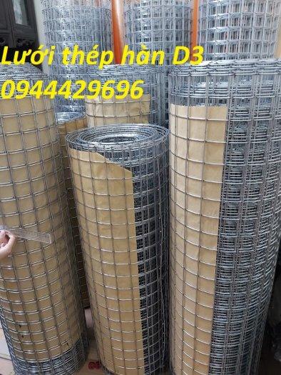 Lưới thép hàn mạ kẽm D3 ô 50 x50 khổ 1.2m sẵn kho .7