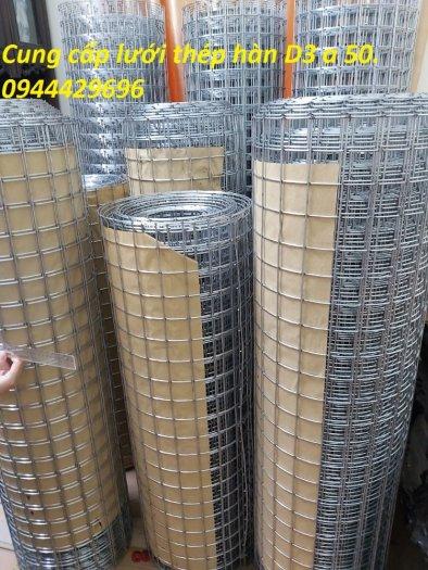 Lưới thép hàn mạ kẽm D3 ô 50 x50 khổ 1.2m sẵn kho .5