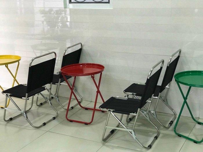 Bộ bàn ghế lưới xếp cf2
