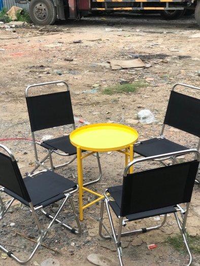 Bộ bàn ghế lưới xếp cf0