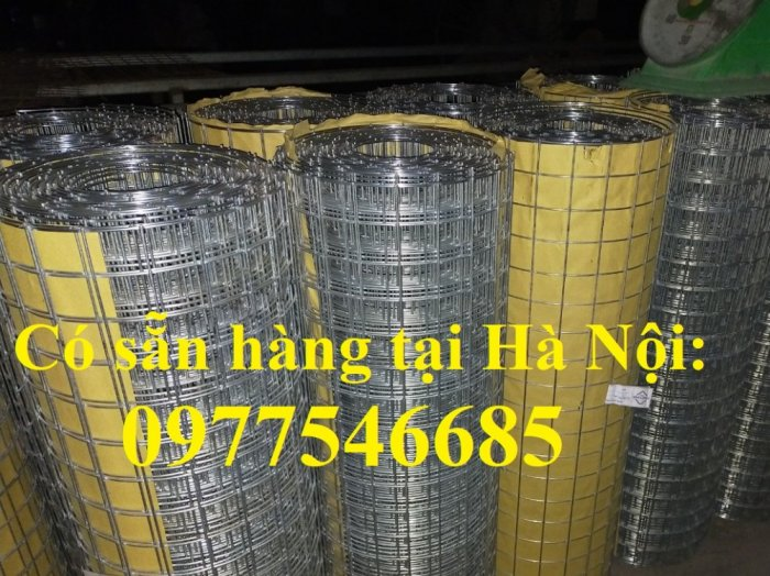 Lưới làm giàn lan, tấm lưới mạ kẽm vuông 5x5cm, lưới hàn mạ kẽm4