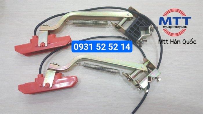 Chổi tiếp điện cầu trục 60a pvc hãng myungshin1