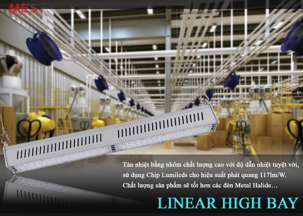 Đèn nhà xưởng Highbay 100w chính hãng0