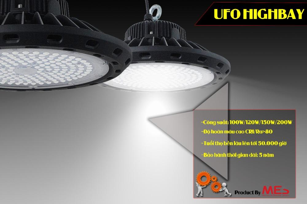 Đèn Led nhà xưởng UFO 150w cao cấp2