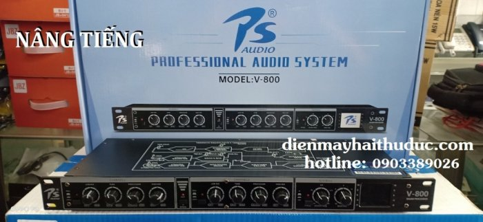 Mixer nâng tiếng PS Audio V-800 mẫu mới 20214