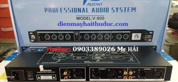 Mixer nâng tiếng PS Audio V-800 mẫu mới 20212