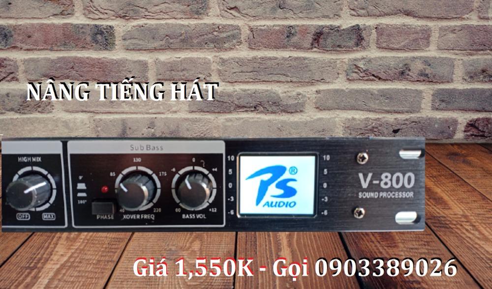 Mixer nâng tiếng PS Audio V-800 mẫu mới 20211