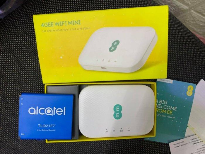 Bộ phát Wifi 4G Alcatel EE71 Cat6 tốc độ cao 4G. Hỗ trợ 20 user4