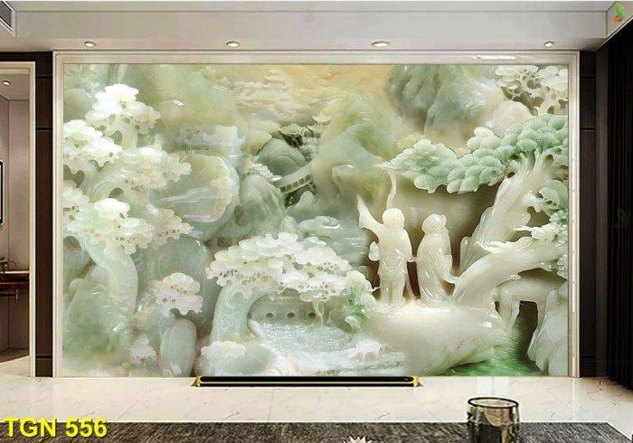 Tranh sứ ngọc-gạch tranh 3D3