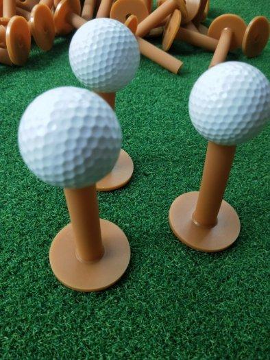 Tee golf cao su cao cấp, cọc đỡ bóng golf2