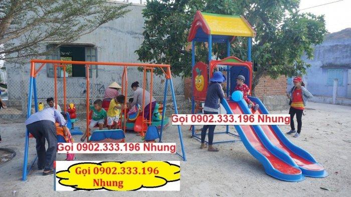 Nơi cung cấp cầu trượt cho trẻ em mầm non giá rẻ6