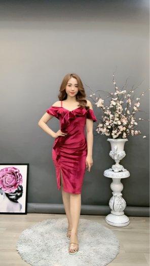 Đầm váy nữ Nhung thiết kế dáng body sang trọng SG1