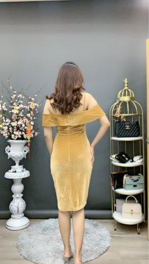 Đầm váy nữ Nhung thiết kế dáng body sang trọng SG2