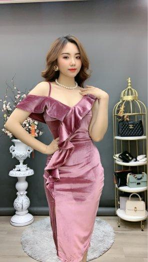 Đầm váy nữ Nhung thiết kế dáng body sang trọng SG3