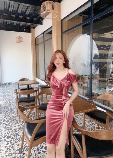 Đầm váy nữ Nhung thiết kế dáng body sang trọng SG5