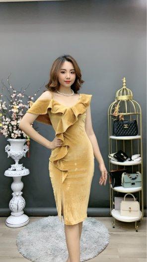 Đầm váy nữ Nhung thiết kế dáng body sang trọng SG7
