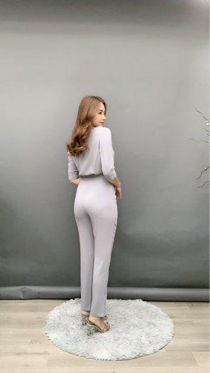 Jumpsuit thiết kế kiểu Vest tay lỡ Hàn Quốc SG1