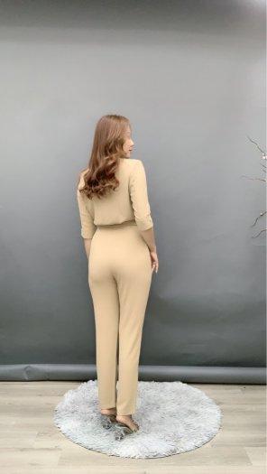 Jumpsuit thiết kế kiểu Vest tay lỡ Hàn Quốc SG0