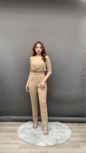 Jumpsuit thiết kế kiểu Vest tay lỡ Hàn Quốc SG3