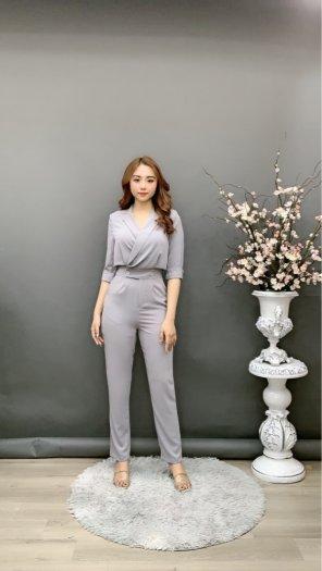Jumpsuit thiết kế kiểu Vest tay lỡ Hàn Quốc SG5