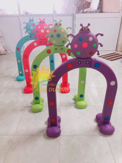 Cung chui vận động thể chất trẻ em cho trường mầm non, công viên, khu vui chơi5