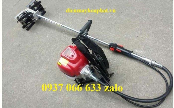 Máy xạc cỏ Honda GX35,xới được cả cỏ và đất,giá rẻ2