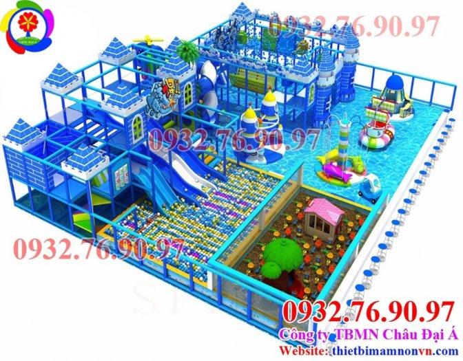 Thi công khu vui chơi liên hoàn cho trẻ em