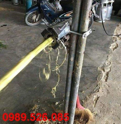 Dao cạo vỏ mía ống thép thiết kế 4 lưỡi giao cạo1