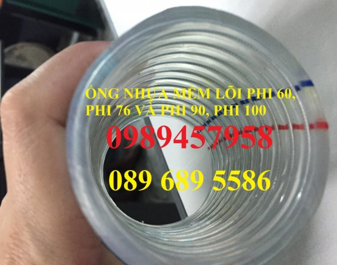 Ống nhựa mềm lõi thép phi 38, Phi 42, phi 50, phi 80, phi 100, phi 120, phi 1502