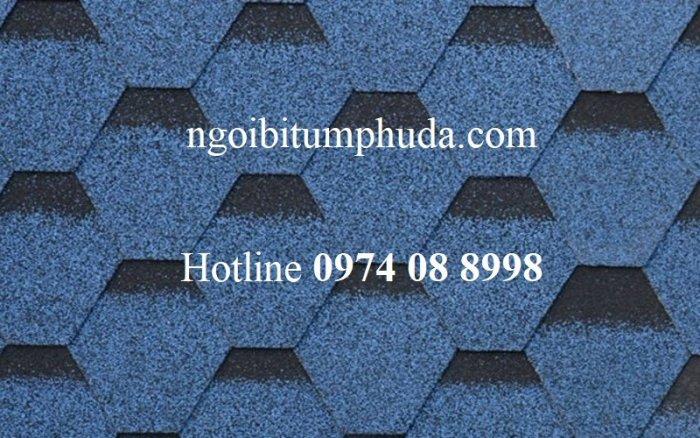 Tấm lợp bitum phủ đá giải pháp lợp mái cho dự án biệt thự, tấm lợp bitum tổng hợp siêu nhẹ10