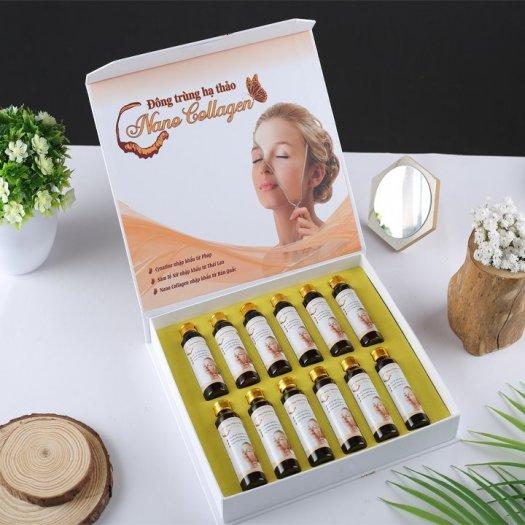 Nano Collagen Đông trùng hạ thảo hộp 12 lọ x 20 ml/lọ3
