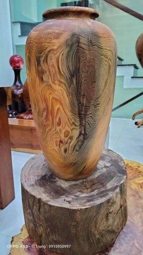 Ché rựu cần tây nguyên gỗ thủy tùng đa sắc1