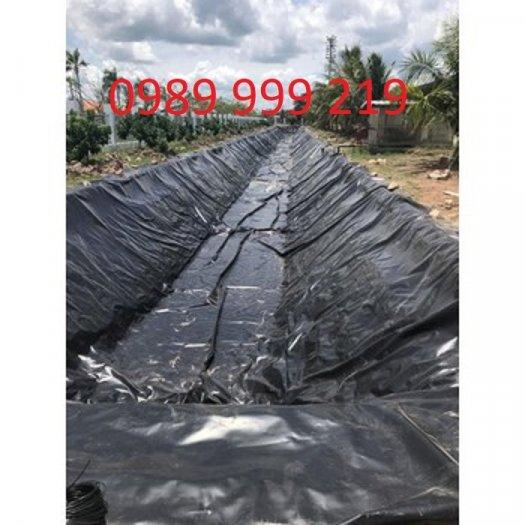 Cuộn Bạt hdpe đen 0.3zem,0.5zem cuộn cuộn 300m2 khổ 6m Chống Thấm Giúp Giữ Rác Thải Và Ngăn Sự Rò Rỉ1