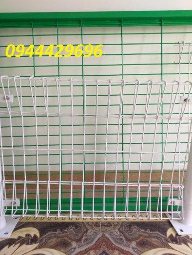 Hàng rào lưới thép hàn mạ kẽm sơn tĩnh điện D5 50x2005