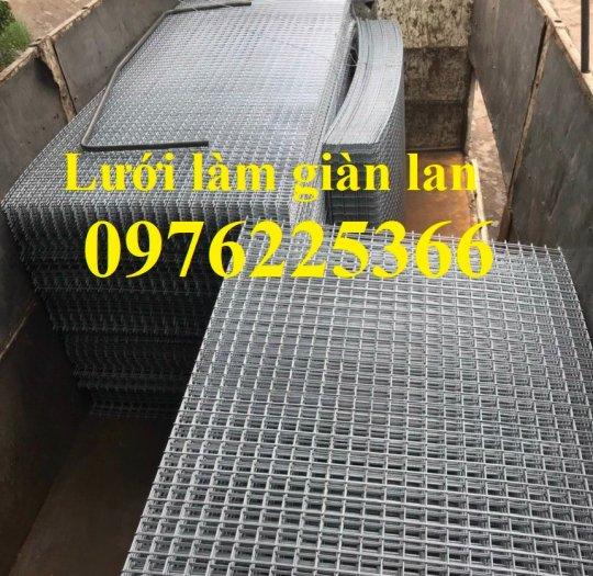 Sản xuất lưới làm giàn lan D3, D4 ô 35x35mm, 40x40mm, 50x50mm6