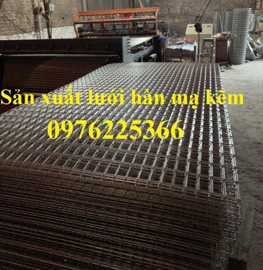 Sản xuất lưới làm giàn lan D3, D4 ô 35x35mm, 40x40mm, 50x50mm1