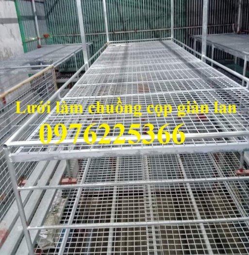 Sản xuất lưới làm giàn lan D3, D4 ô 35x35mm, 40x40mm, 50x50mm0
