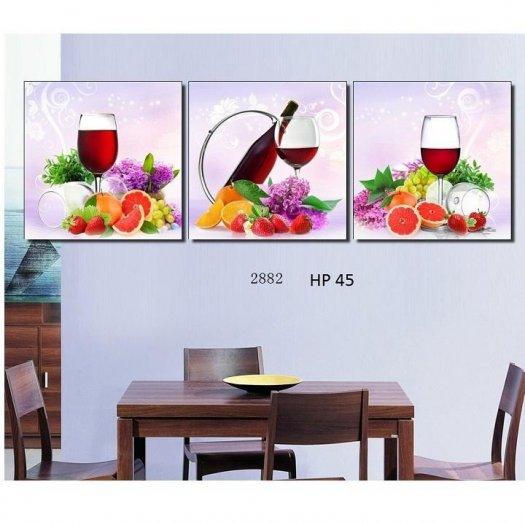 Tranh trang trí phòng ăn - tranh gạch2